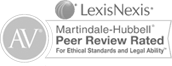 Martindale Hubbell Peer Review Rated